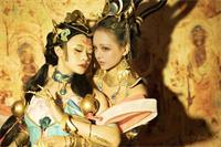 """王者荣耀COS:杨玉环""""遇见飞天"""" 来自千年前的邂逅"""