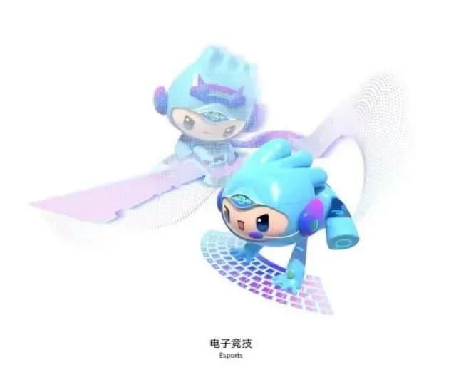杭州亚运会电竞项目图标发布,吉祥物运动造型曝光