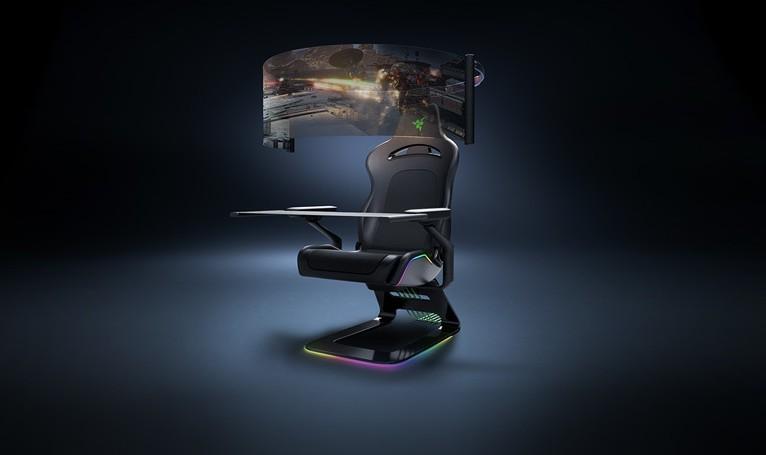 雷蛇次世代电竞椅,游玩时更有沉浸感