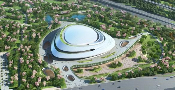 亚运会电竞场馆公布!预计今年10月31日完工
