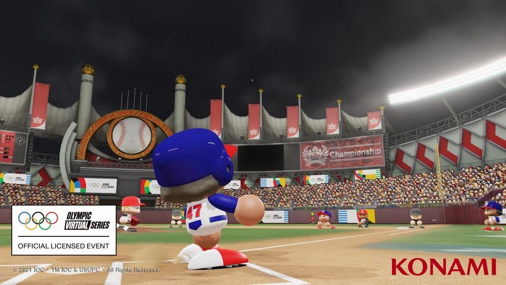 奥林匹克虚拟系列赛:《实况野球2020》入围