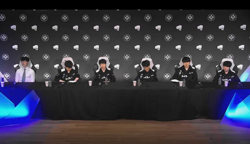 DK战队赛后采访实录:对战RNG会更容易一些
