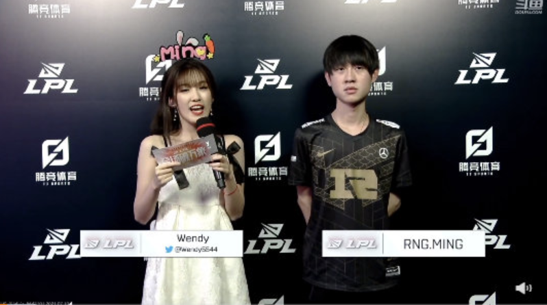 CoreJJ高度评价Ming,Ming表态击败IG很开心