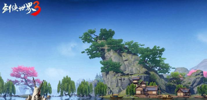 《剑侠世界3》真实测试截图曝光,预约仍在进行中